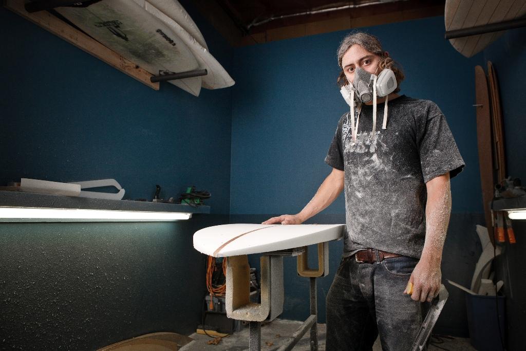 Ryan Siegel Surfboard Shaper
